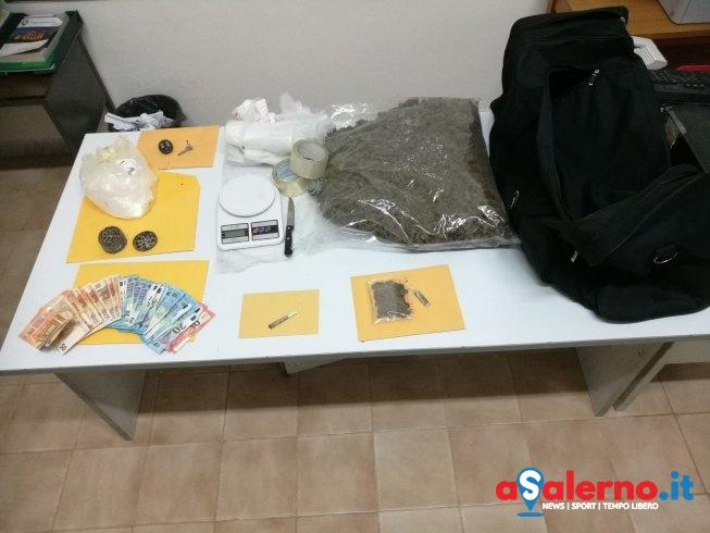Marijuana e hashish in casa e garage: in manette due pregiudicati – LE FOTO - aSalerno.it