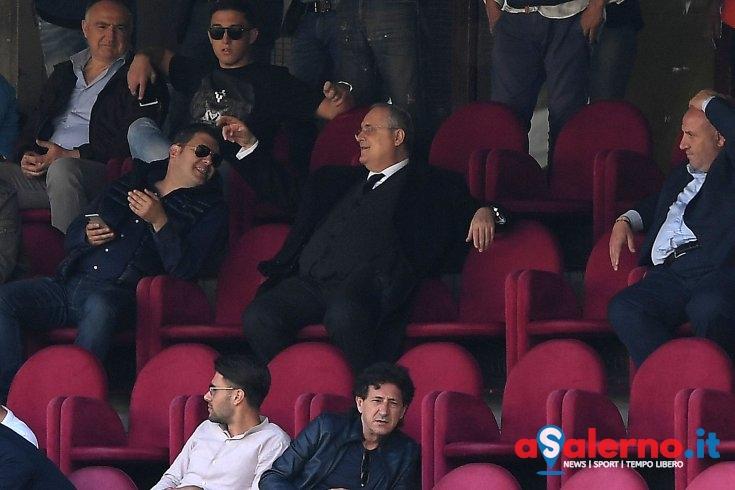 """""""Salerno non è la Lazio"""" ..e Lotito """"direttore d'orchestra"""" – LE FOTO - aSalerno.it"""