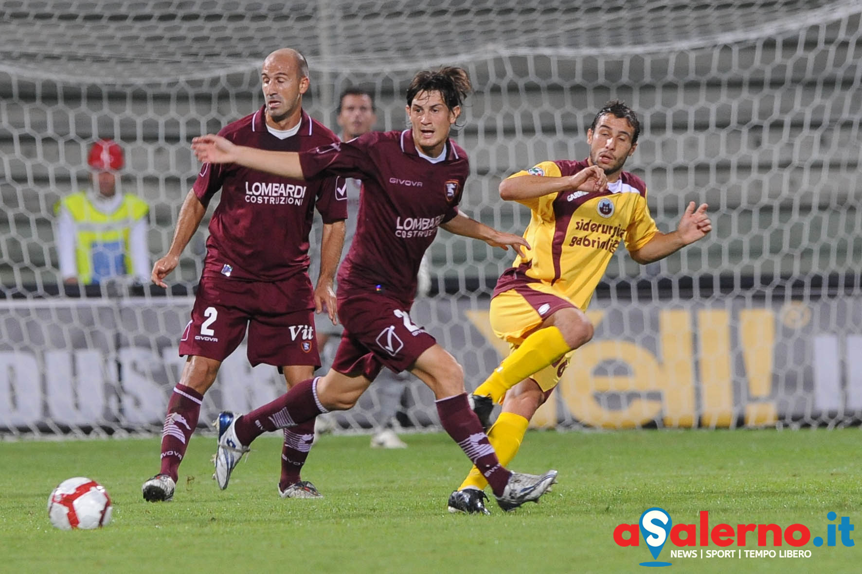 sal : Salernitana - Cittadella Campionato TIM Serie B 2009-2010 Nella foto: carcuro (Foto Tanopress)