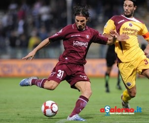 sal : Salernitana - Cittadella Campionato TIM Serie B 2009-2010 Nella foto: gol di fava (Foto Tanopress)