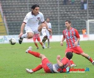 SAL - Cremonese-Salernitana Campionato Lega Pro 2010/2011 nella foto balestri foto tanopress