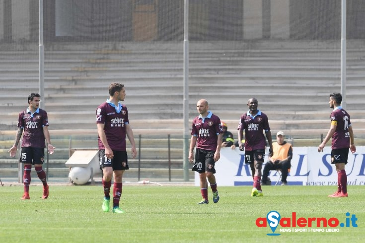 Salernitana in offside, il Cittadella ringrazia (0-2 pt) - aSalerno.it