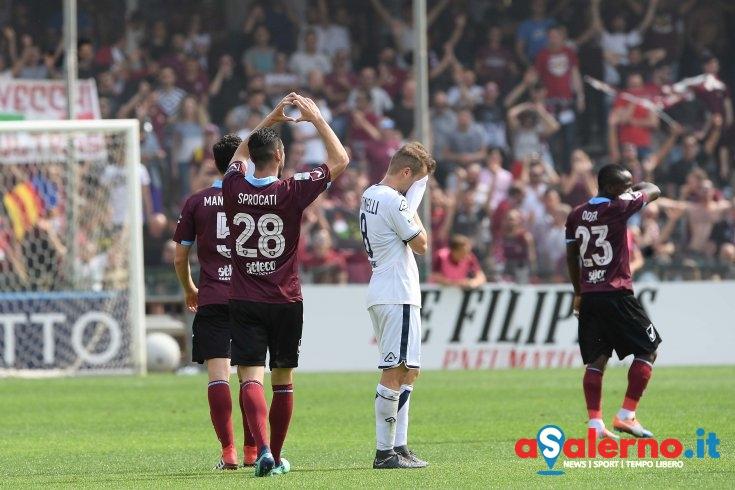 Salernitana, i fantastici 4 avvicinano la salvezza e piegano il Brescia - aSalerno.it