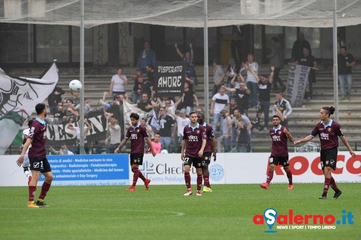 La Salernitana buca e Moncini colpisce, Cesena in vantaggio (pt 0-1) - aSalerno.it