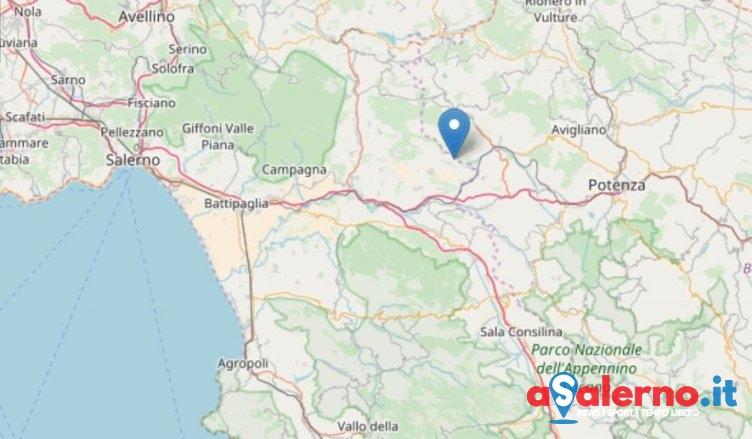 Scossa di terremoto nella notte a Ricigliano - aSalerno.it