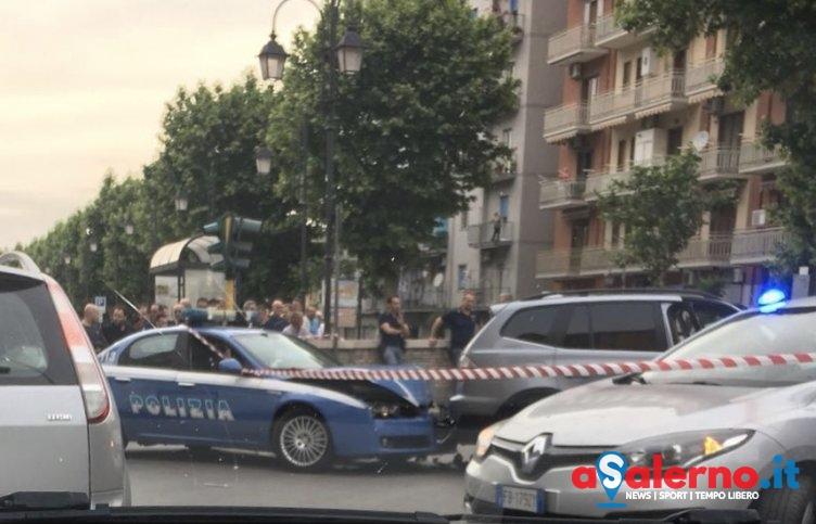 Polizia sperona Bmw con a bordo due presunti ladri: sgomento a Nocera Superiore - aSalerno.it