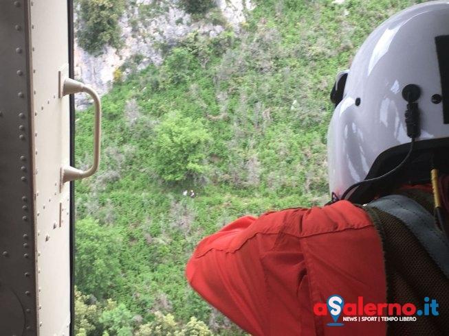 Dispersa tra i monti a Cetara, recuperata 16enne – VIDEO - aSalerno.it