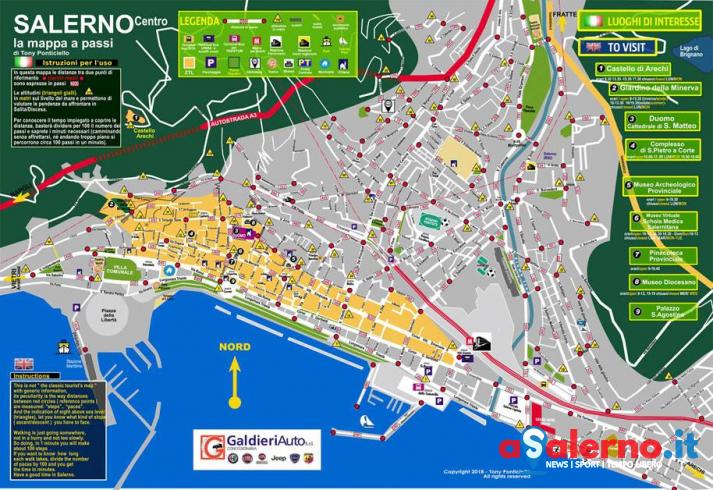 """Nasce """"Salernoapassi"""", un nuovo modo di ripensare la mobilità - aSalerno.it"""