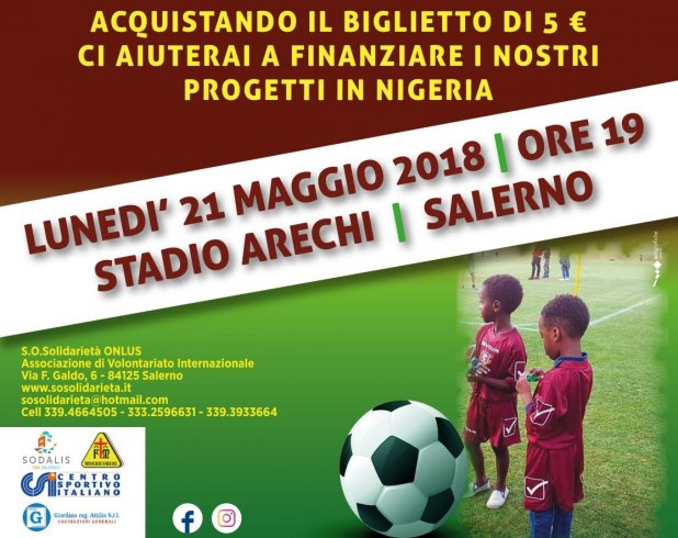 "All'Arechi un ""goal per la Nigeria"" - aSalerno.it"
