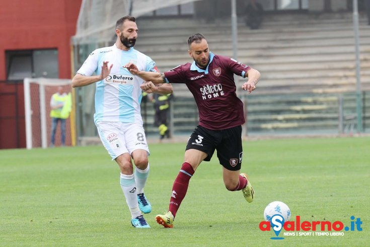 Zero sussulti tra Salernitana ed Entella (0-0 pt) - aSalerno.it