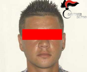 Foto - Latitante arrestato 1