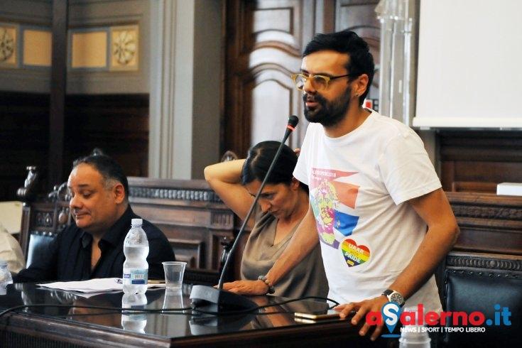 """Pride 2018, Francesco Napoli su Forza Nuova: """"Sono l'ottavo colore dell'arcobaleno"""" - aSalerno.it"""
