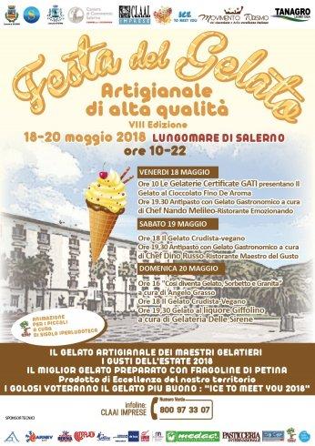 Sul lungomare di Salerno la Festa del Gelato Artigianale di Alta Qualità - aSalerno.it