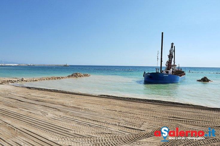 """Ripascimento litorale, De Maio: """"Il primo lotto è completo"""" - aSalerno.it"""