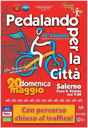 Il 20 maggio a Salerno torna Pedalando per la Città - aSalerno.it