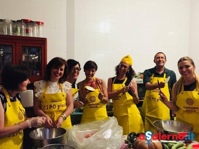 Valore ai prodotti locali, al Museo Peppe Natella chef e giornalisti ai fornelli - aSalerno.it