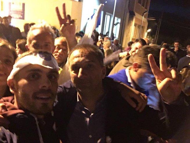Nicola Padula festeggia a San Gregorio Magno - aSalerno.it