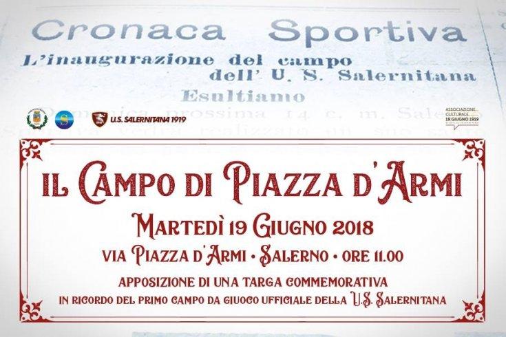 19 giugno: una targa sul primo campo calcato dalla Salernitana - aSalerno.it
