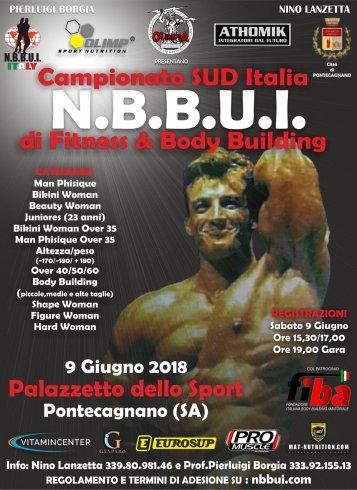 A Pontecagnano la gara del campionato Sud Italia NBBUI Fitness & Body Building - aSalerno.it