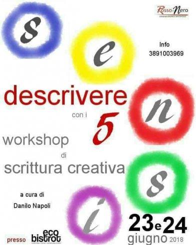 "A Salerno il workshop ""Descrivere con i cinque sensi"" - aSalerno.it"