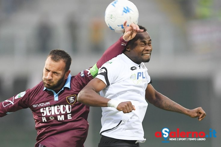 Leggera frenata per Jallow - aSalerno.it