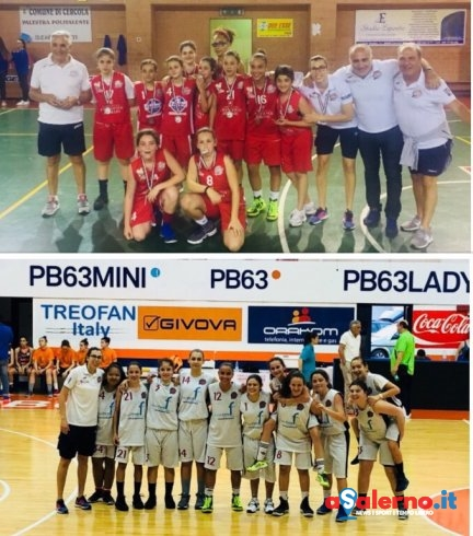 Basket femminile: Ruggi ancora sul podio con le giovanili - aSalerno.it