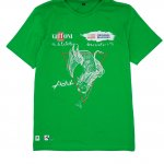T-shirt Original Marines per Giffoni Film Festival verde