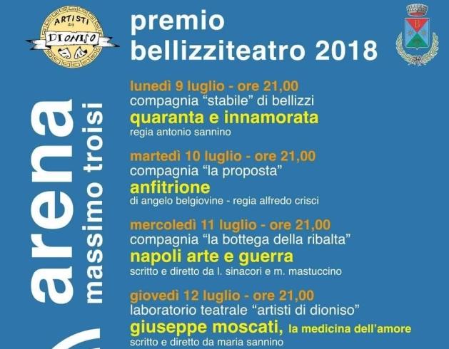 """Tutto pronto per la seconda edizione di """"Bellizzi Teatro"""" - aSalerno.it"""