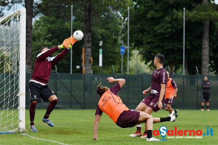 Salernitana, match in famiglia: Vuletich sorprende, bene Bellomo e Odjer – LE FOTO - aSalerno.it