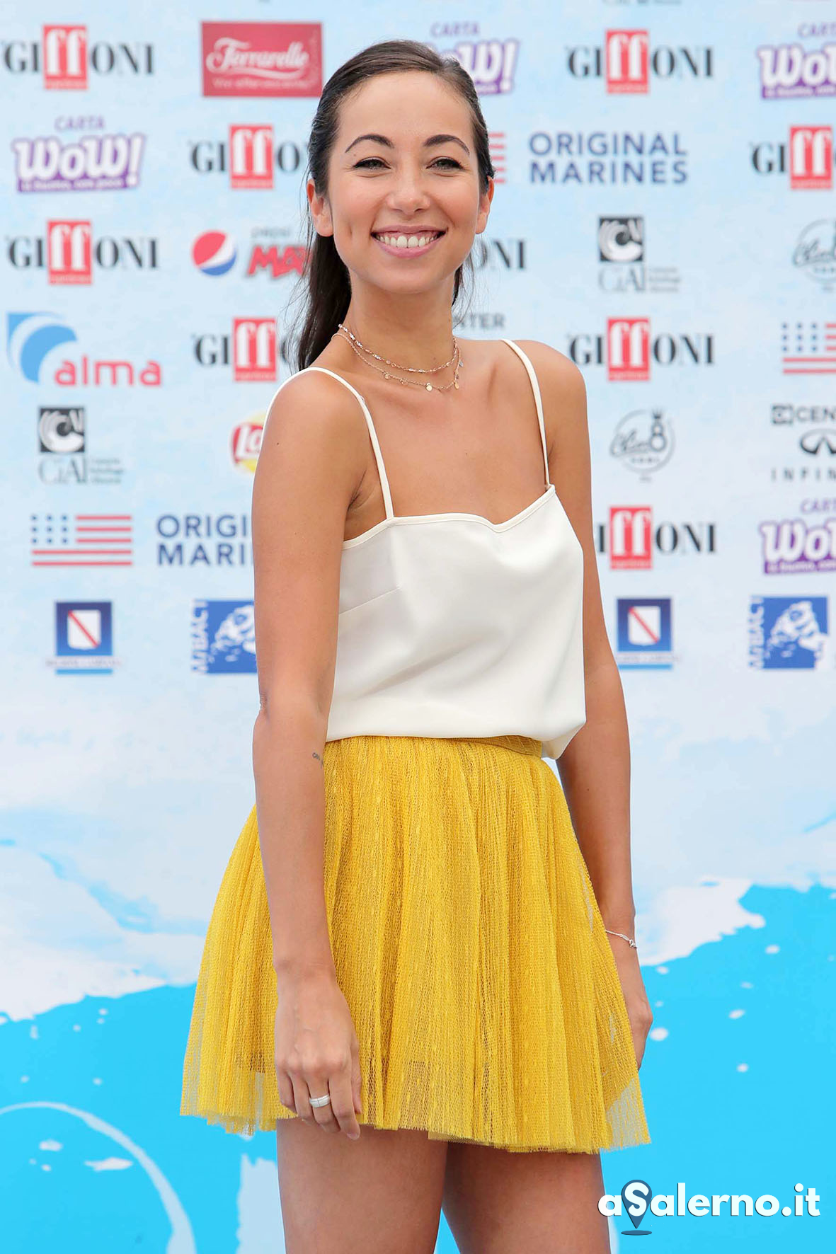 SAL - 23 07 2018 Giffoni Film Festival. Nella foto Tess Masazza. Foto Tanopress