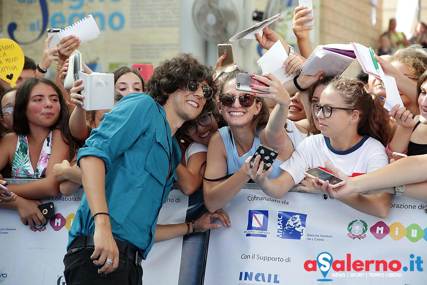 SAL - 21 07 2018 Giffoni Film Festival. Nella foto Ermal Meta. Foto Tanopress