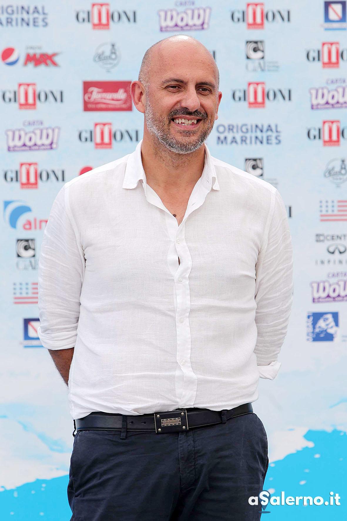 SAL - 23 07 2018 Giffoni Film Festival. Nella foto Marco Ponti. Foto Tanopress