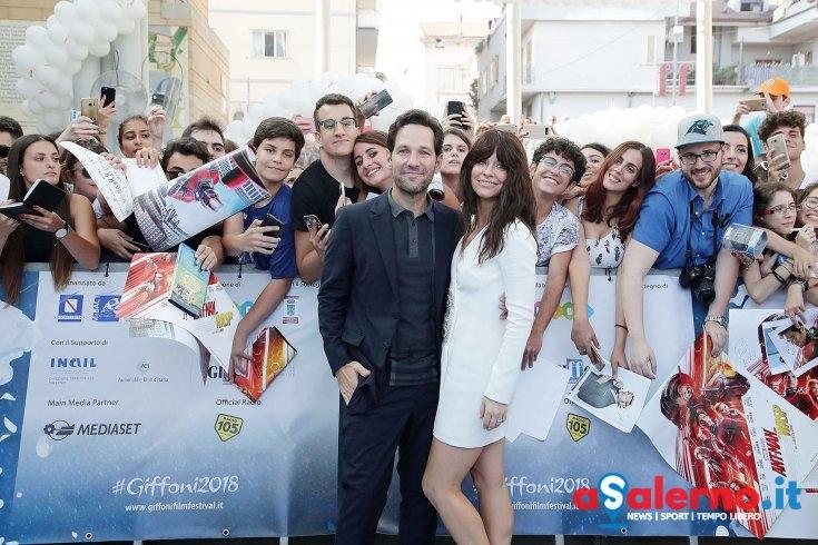 Giffoni Film Festival 2018, Day 1 – Evangeline Lilly, Paul Rudd e tanti altri - aSalerno.it