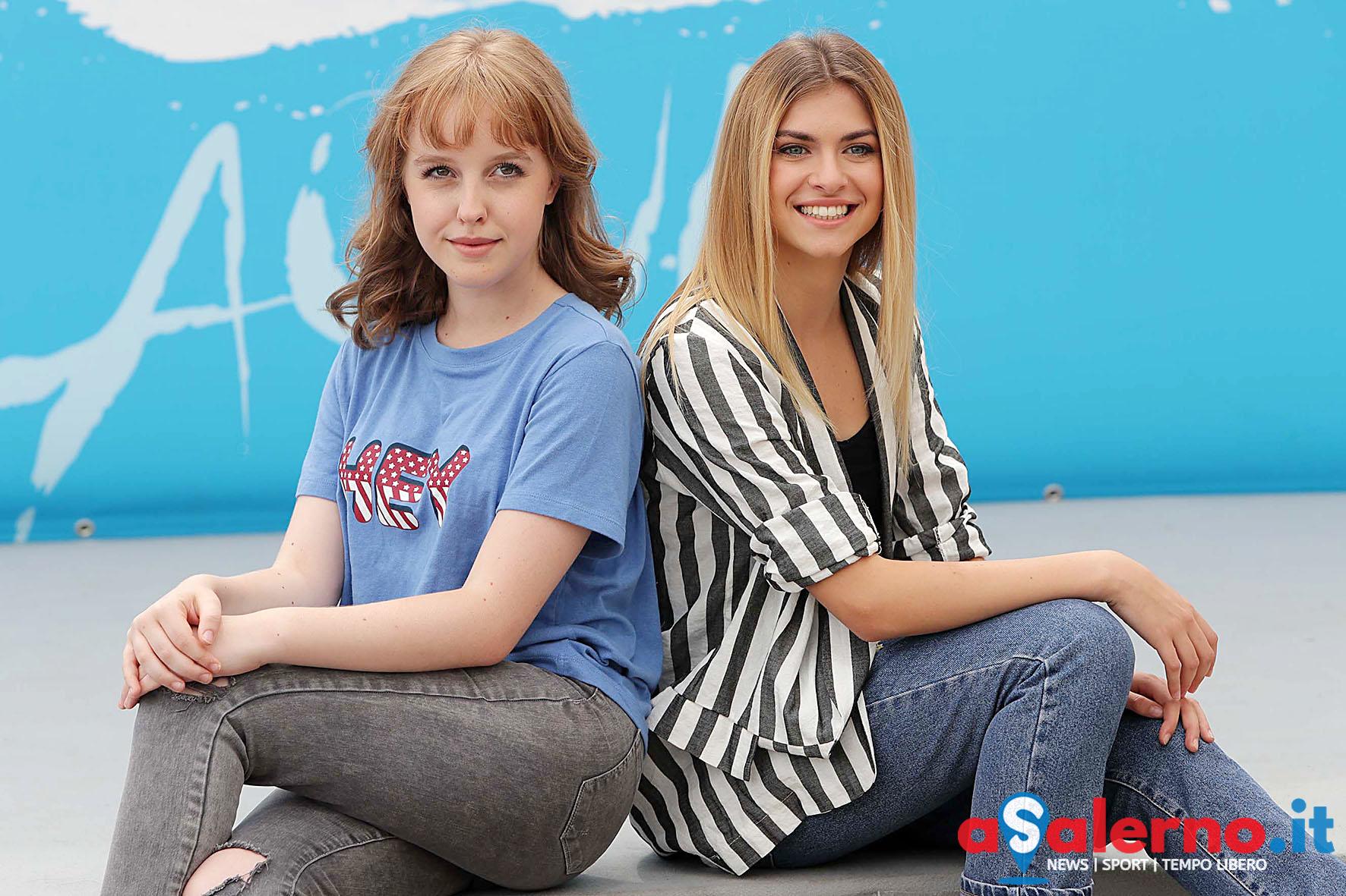 SAL - 22 07 2018 Giffoni film festival. Nella foto Sara e Marti. Foto Tanopress