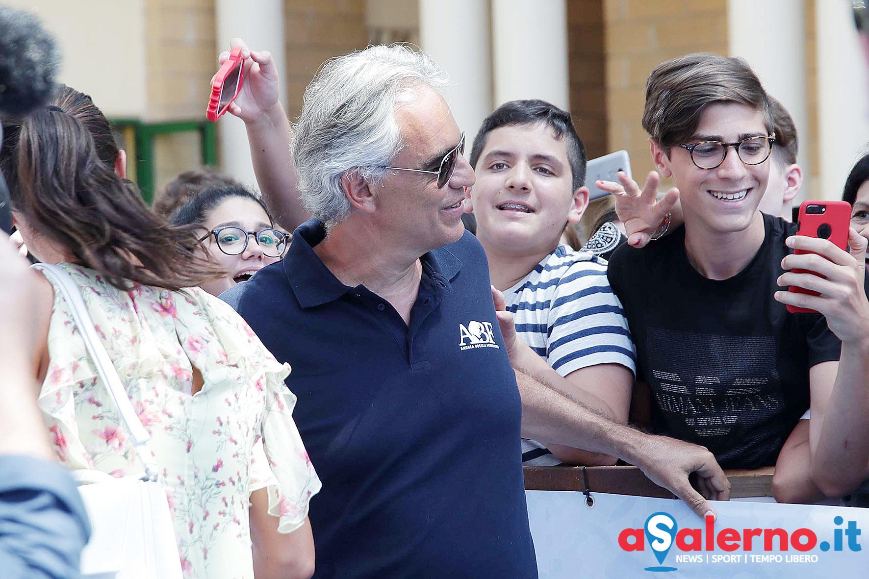 SAL - 20 07 2018 Giffoni. Nella foto Andrea Bocelli. Foto Tanopress