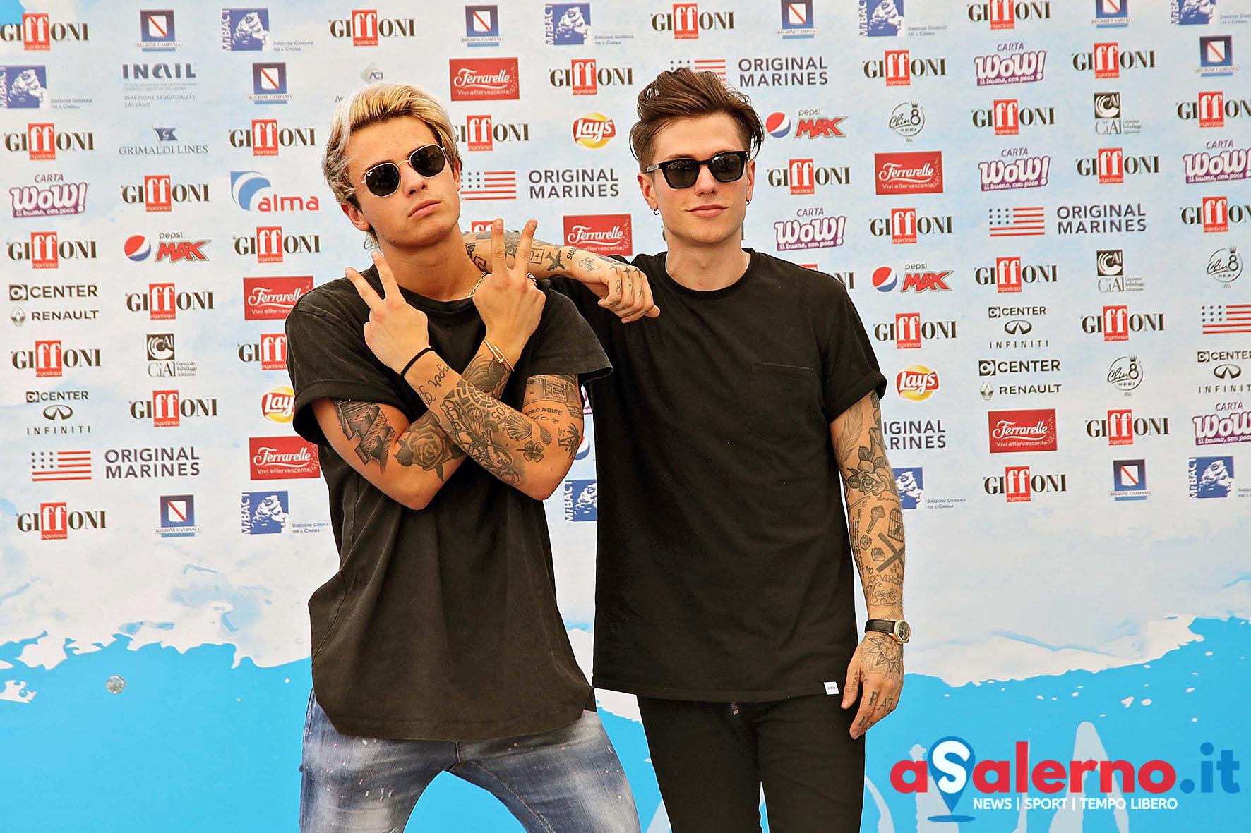 SAL - 20 07 2018 Giffoni Film Festival. Nella foto Benji e Fede. Foto Tanopress