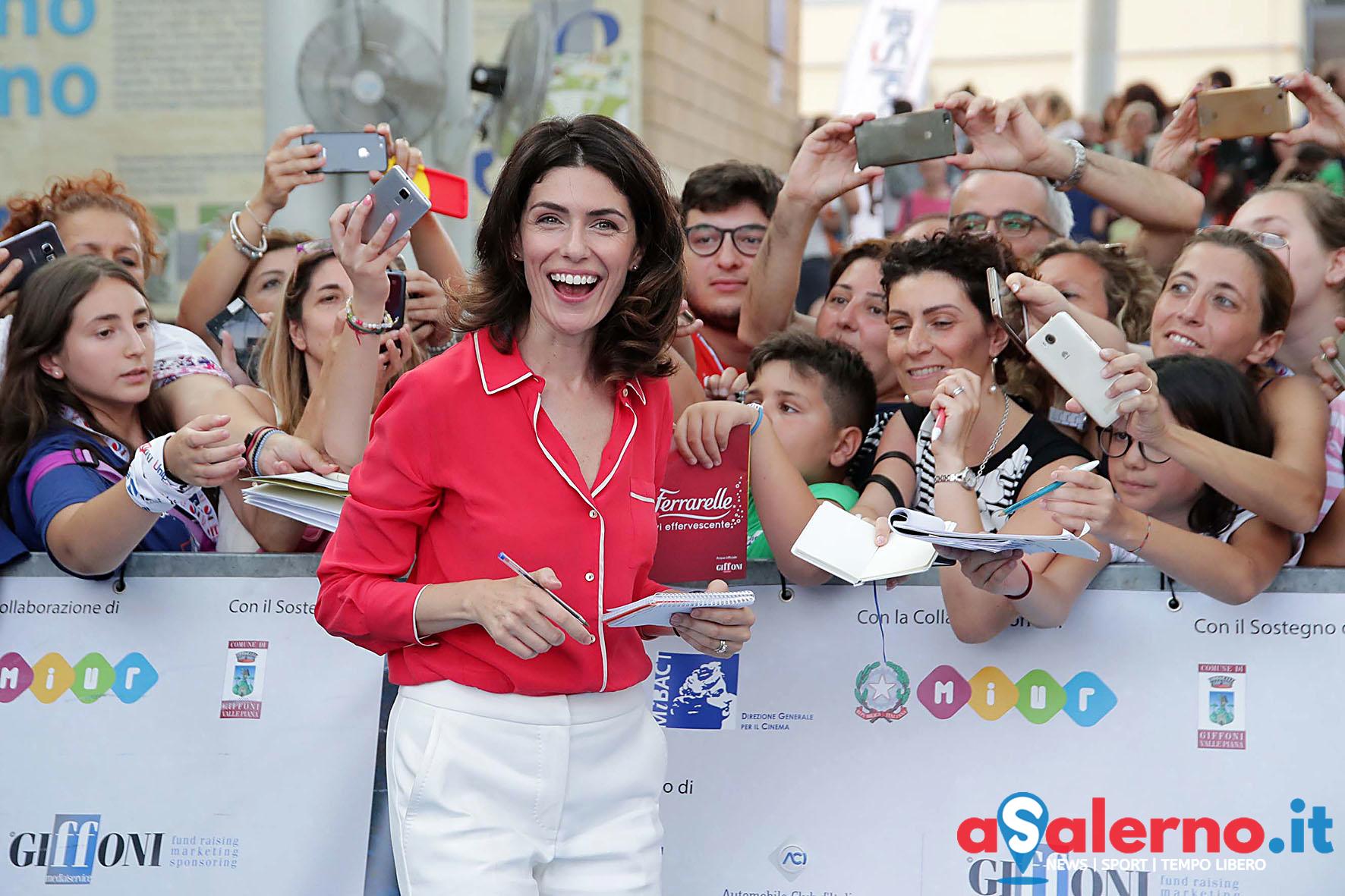 SAL - 21 07 2018 Giffoni Film Festival. Nella foto Anna Valle. Foto Tanopress