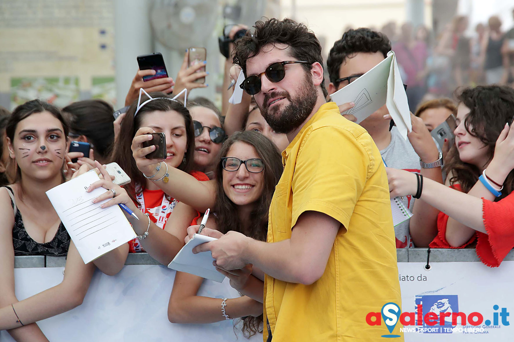 SAL - 22 07 2018 Giffoni film festival. Nella foto Frank Matano. Foto Tanopress