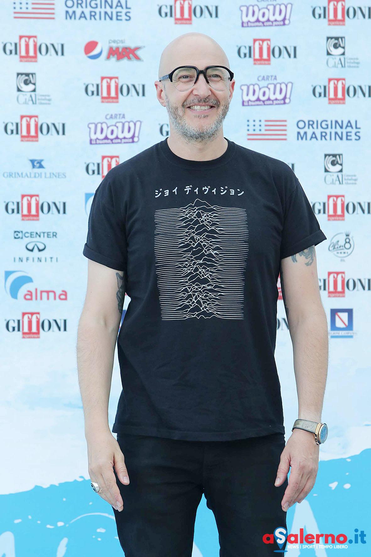 SAL - 20 07 2018 Giffoni Film Festival. Nella foto Saturnino. Foto Tanopress