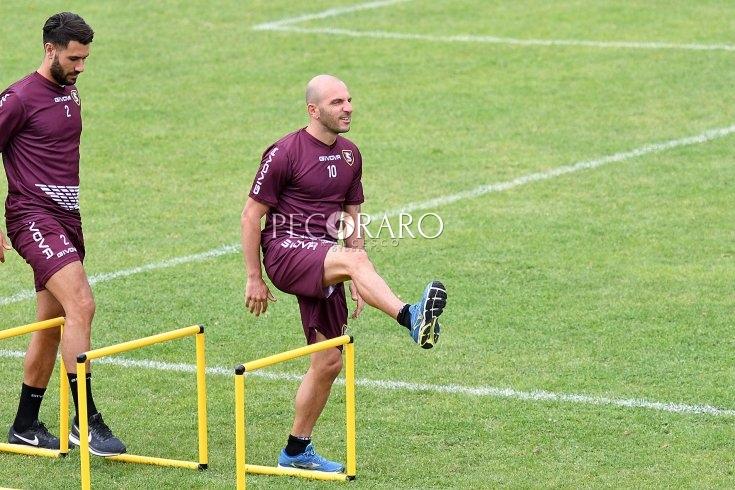 Schiavi a riposo, torna in campo Rosina: allenamento sulla finalizzazione - aSalerno.it