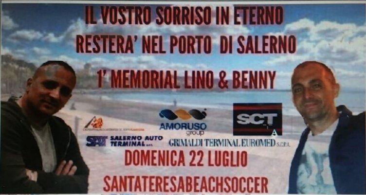 Con Lino e Benny nel cuore: per loro il Memorial a Santa Teresa - aSalerno.it
