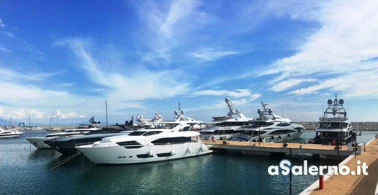Marina d'Arechi finestra sul mondo: è record di megayacht internazionali - aSalerno.it