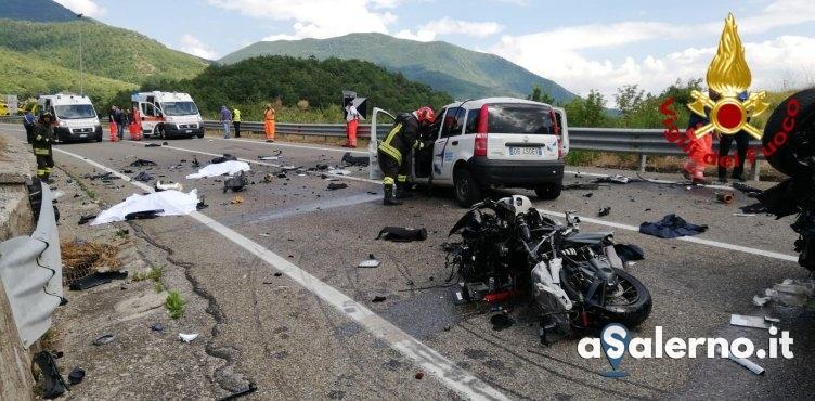 Tragedia sulla statale ad Atena Lucana: due morti e tre feriti - aSalerno.it