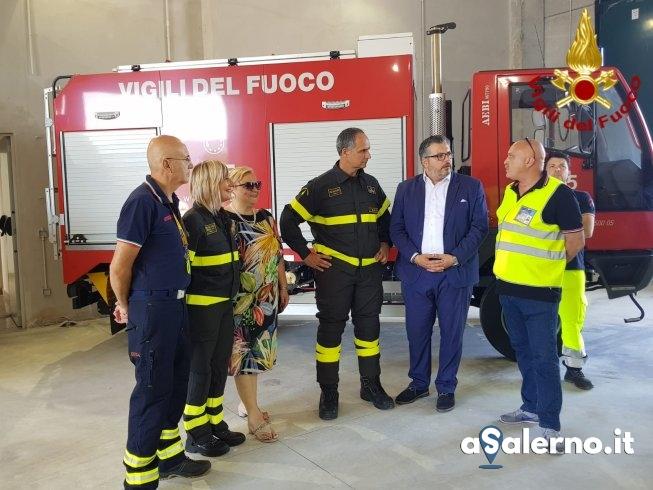 Agropoli, inaugurato il distaccamento estivo dei Vigili del Fuoco - aSalerno.it