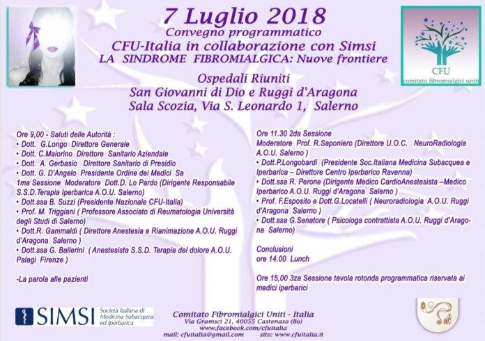Fibromialgia e le nuove frontiere: convegno al Ruggi - aSalerno.it