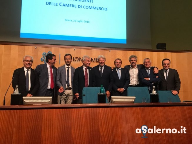 Camera di Commercio Salerno, Prete eletto vice presidente vicario di Unioncamere - aSalerno.it