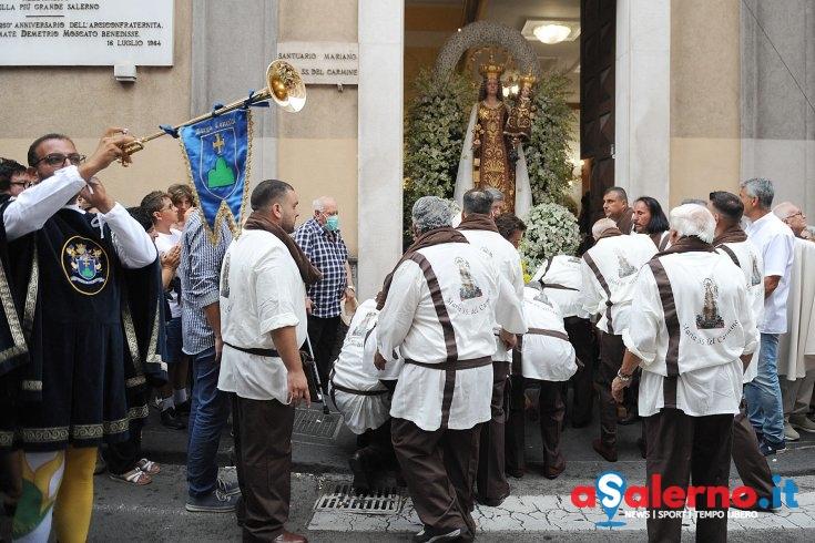 Madonna del Carmine, rione in festa – LE FOTO - aSalerno.it