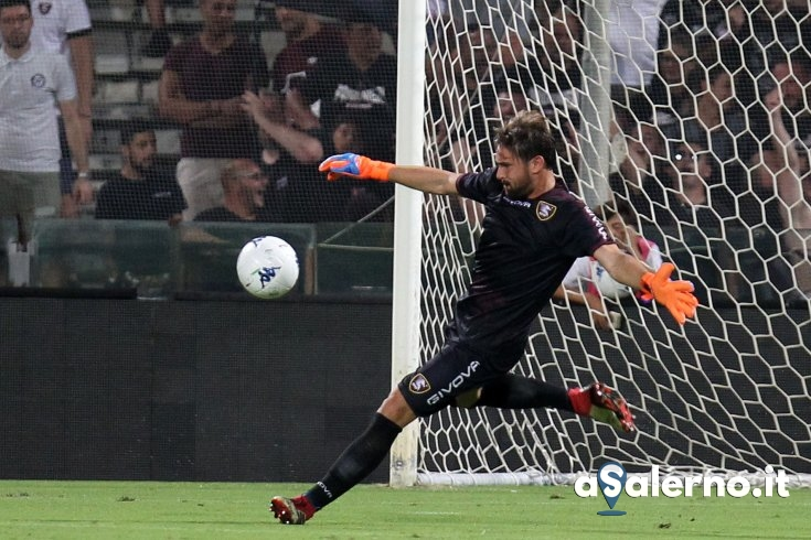 "Salernitana, Micai: ""Mentalità vincente per puntare in alto"" - aSalerno.it"