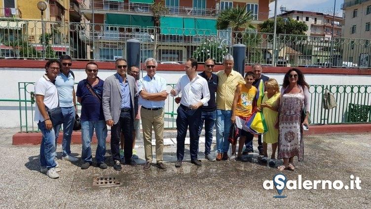 Docce pubbliche sulle spiagge libere di Salerno - aSalerno.it