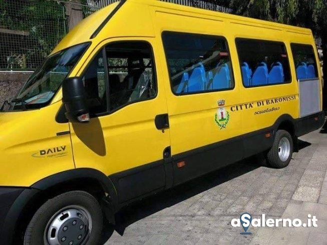 Baronissi, acquistato un nuovo scuolabus - aSalerno.it
